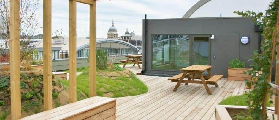 Kirby House roof terrace