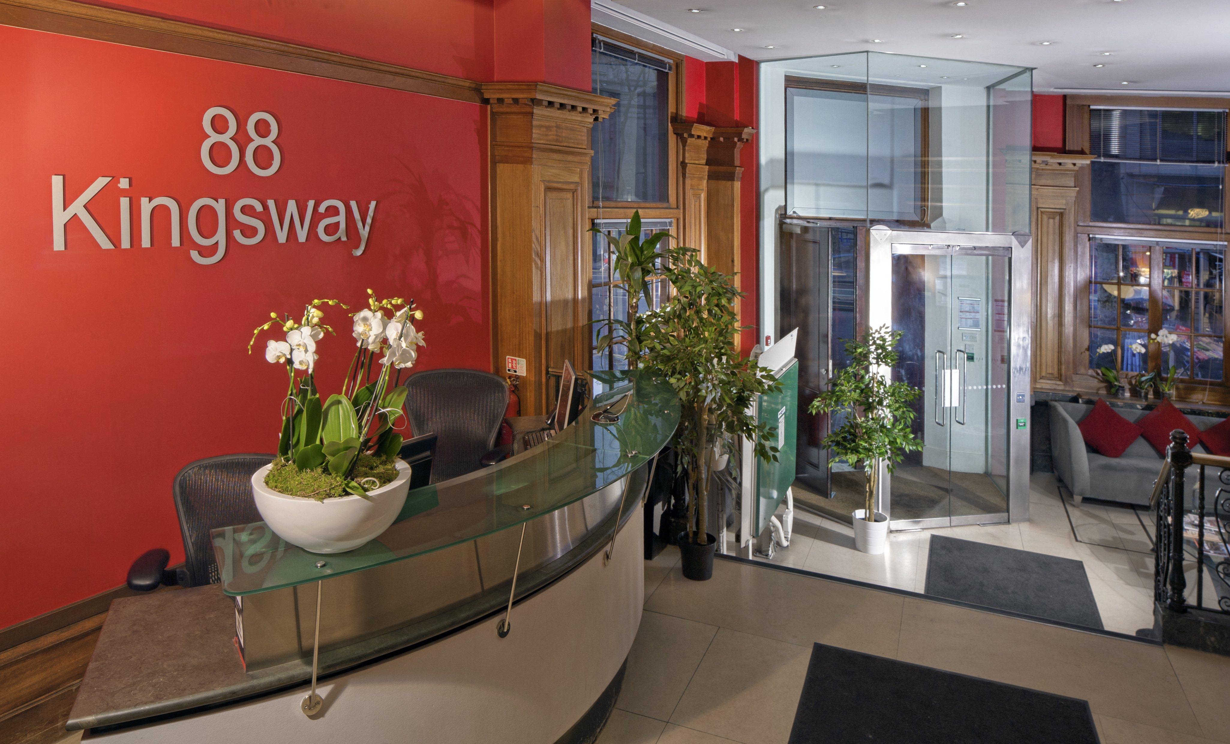 88 Kingsway reception